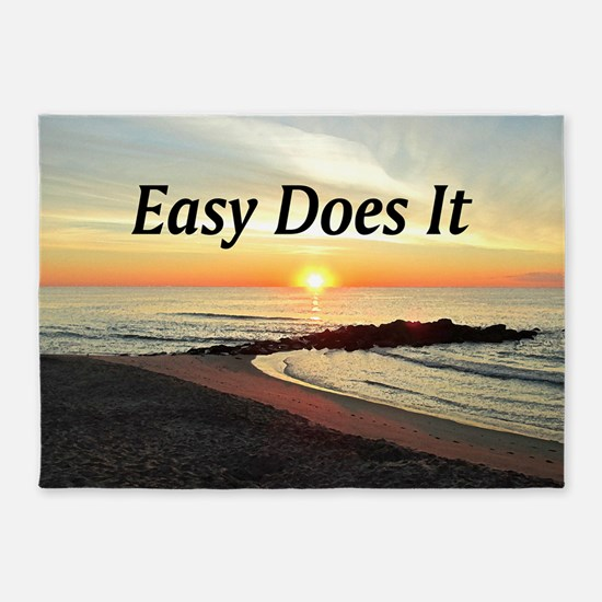 EASY DOES IT 5'x7'Area Rug