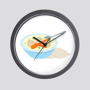 Matzah Balls Wall Clock
