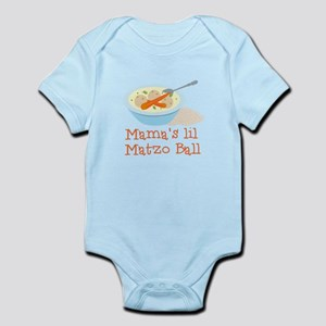 Mama's Lil Matzo Ball Body Suit