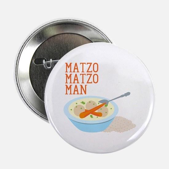 """Matzo Matzo Man 2.25"""" Button"""