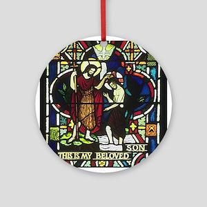 Baptism of Jesus Ornament (Round)