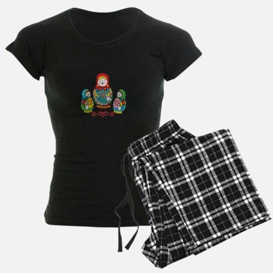 Russian Matryoshka Pajamas