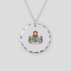 Russian Matryoshka Necklace