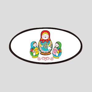 Russian Matryoshka Patches