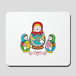 Russian Matryoshka Mousepad