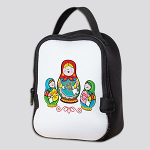 Russian Matryoshka Neoprene Lunch Bag