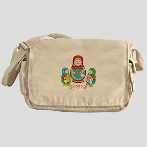 Russian Matryoshka Messenger Bag