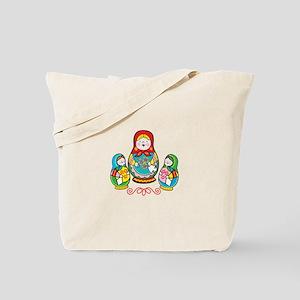 Russian Matryoshka Tote Bag