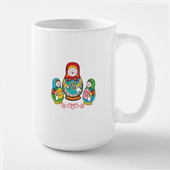 Russian Matryoshka Mugs