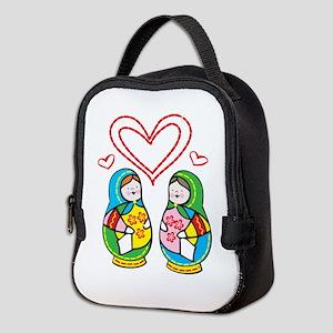 Love Nesting Dolls Neoprene Lunch Bag