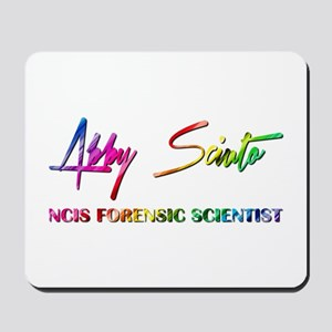 ABBY SCIUTO SIGNATURE Mousepad