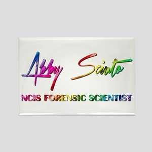 ABBY SCIUTO SIGNATURE Rectangle Magnet