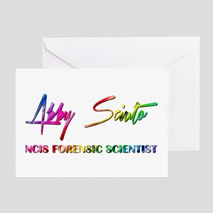 ABBY SCIUTO SIGNATURE Greeting Card