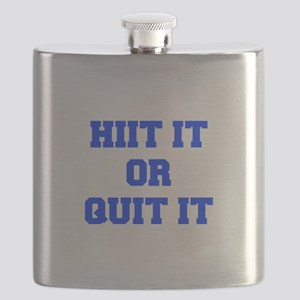 HIIT-OR-QUIT-IT-FRESH-BLUE Flask