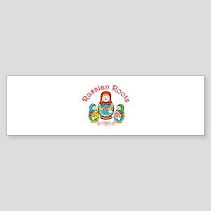 Russian Roots Bumper Sticker