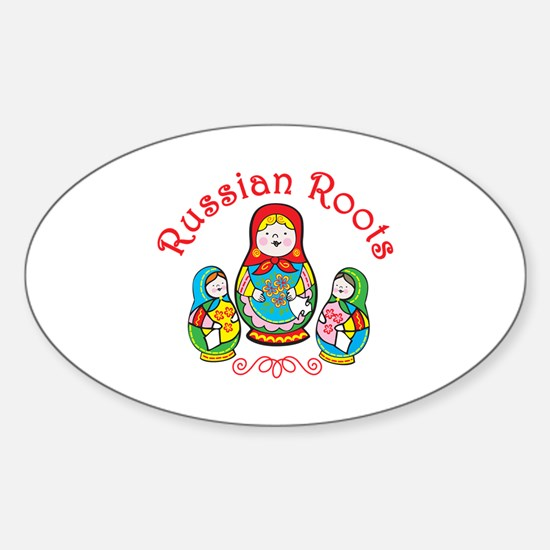 Russian Roots Decal