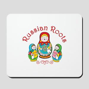 Russian Roots Mousepad