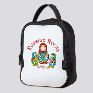 Russian Roots Neoprene Lunch Bag