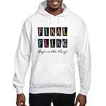 Final Fling Bright Colors Hooded Sweatshirt