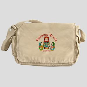 Russian Roots Messenger Bag