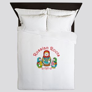 Russian Roots Queen Duvet