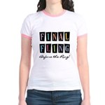Final Fling Bright Colors Jr. Ringer T-Shirt