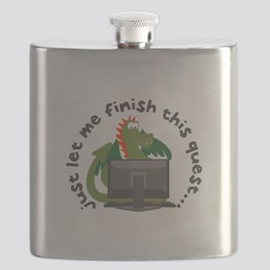 Just Let Me Finish This Quest... Flask