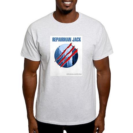 RJ Logo Ash Grey T-Shirt