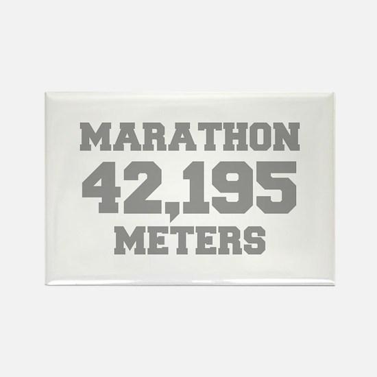 MARATHON-42195-METERS-FRESH-GRAY Magnets