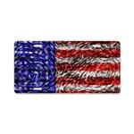 Van Gogh's Flag of the US Aluminum License Plate