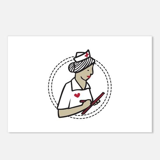 Heart Nurse Postcards (Package of 8)