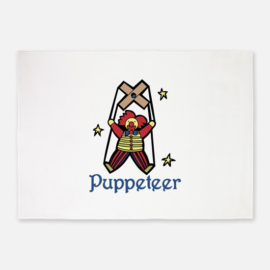 Puppeteer 5'x7'Area Rug