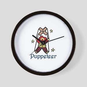 Puppeteer Wall Clock