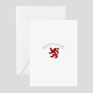 Scotland Lion (Dark) Greeting Cards (Pk of 10)