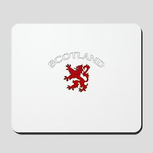 Scotland Lion (Dark) Mousepad
