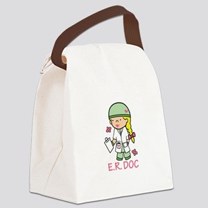 E.R. Doc Canvas Lunch Bag
