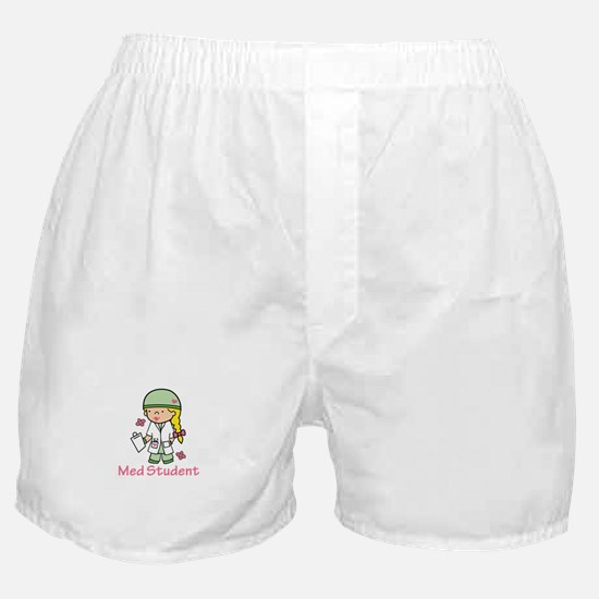 Med Student Boxer Shorts