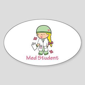Med Student Sticker