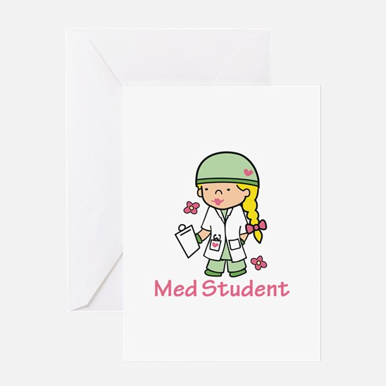 Med Student Greeting Cards