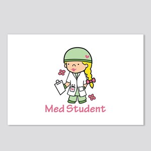 Med Student Postcards (Package of 8)