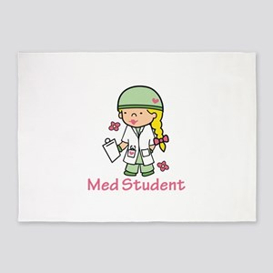 Med Student 5'x7'Area Rug