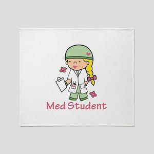 Med Student Throw Blanket
