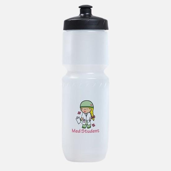 Med Student Sports Bottle