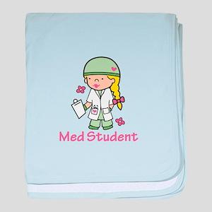 Med Student baby blanket
