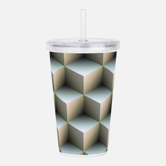 Ambient Cubes Acrylic Double-wall Tumbler