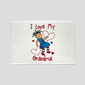 Love My Grandma Magnets
