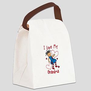 Love My Grandma Canvas Lunch Bag
