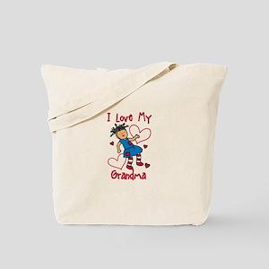 Love My Grandma Tote Bag