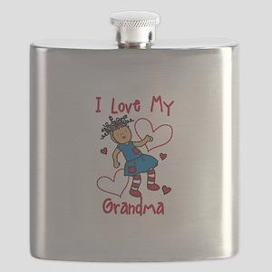 Love My Grandma Flask