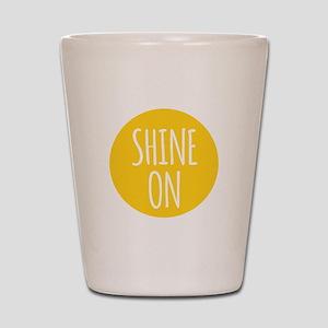 shine on Shot Glass